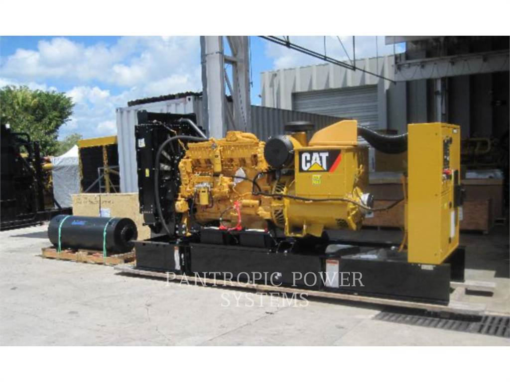 Caterpillar 3406C, Seturi de Generatoare Diesel, Constructii