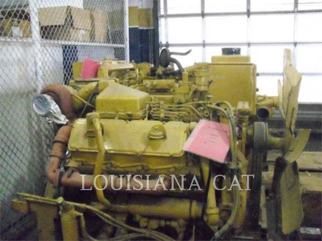 Caterpillar 3408 IND, Industrial engines, Construction