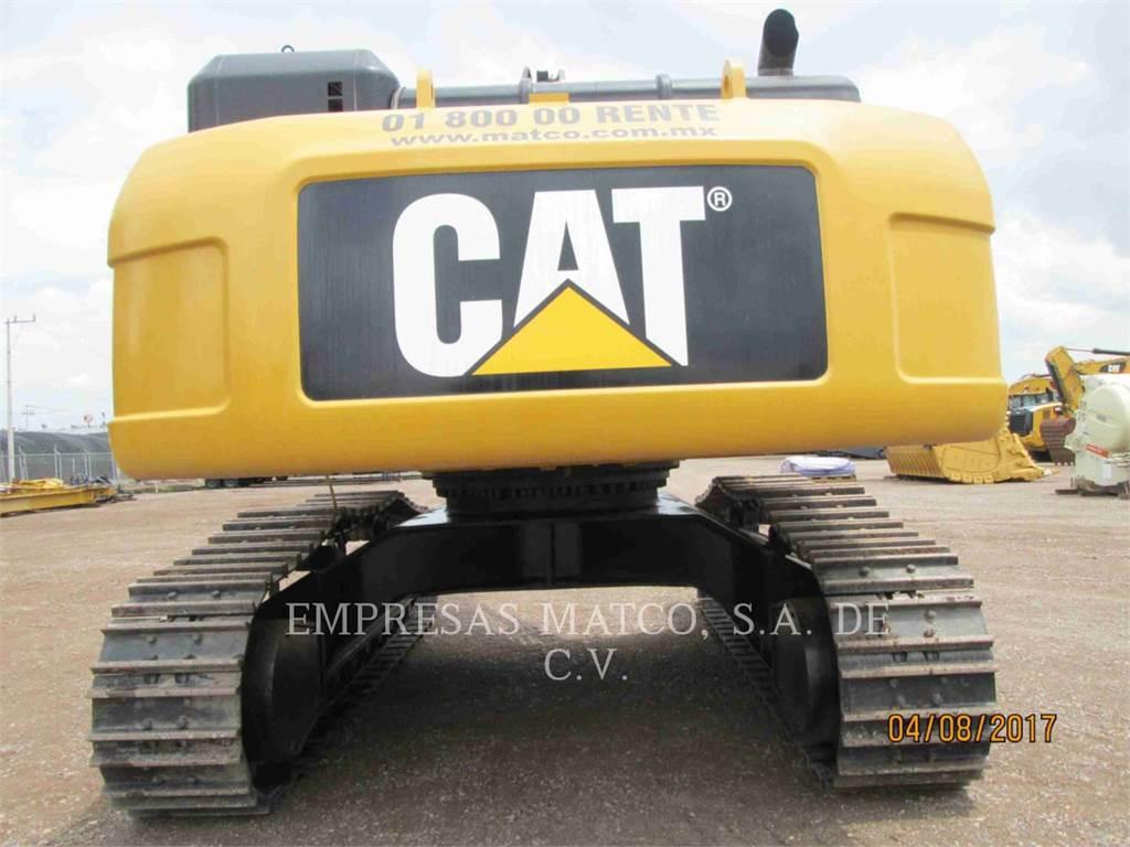 Caterpillar 340D2L, Гусеничные экскаваторы, Строительное