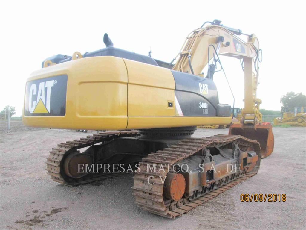 Caterpillar 340D2L, Raupenbagger, Bau-Und Bergbauausrüstung
