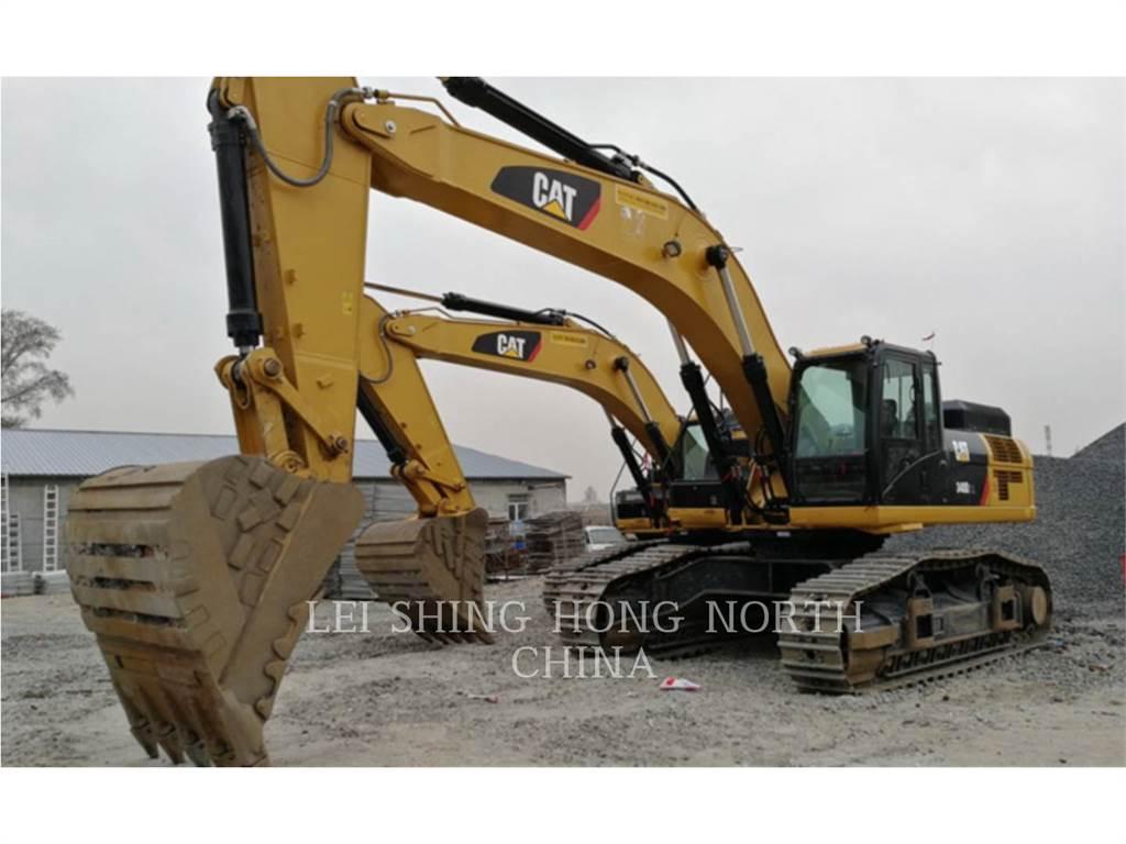 Caterpillar 340D2L, Excavatoare pe senile, Constructii