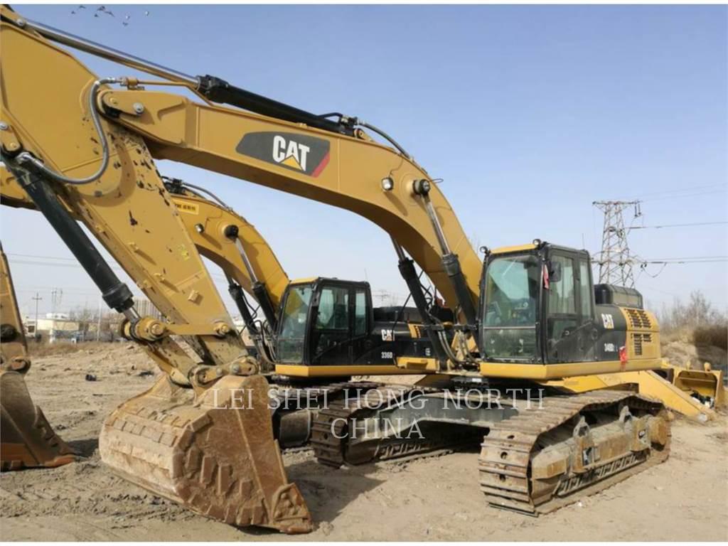 Caterpillar 340D2L, Pelle sur chenilles, Équipement De Construction