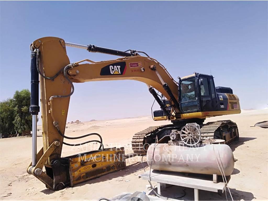 Caterpillar 340D2L、クローラー式油圧ショベル(パワーショベル・ユンボ)、建設
