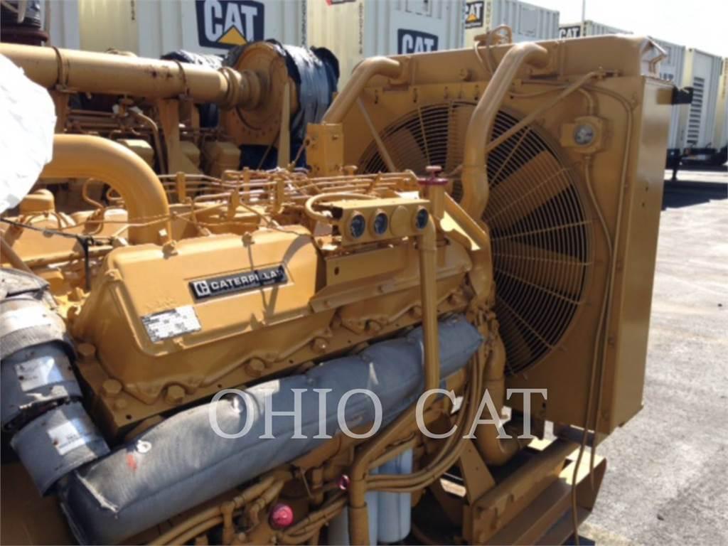 Caterpillar 3412, Stacjonarne Zestawy Generatorów, Sprzęt budowlany