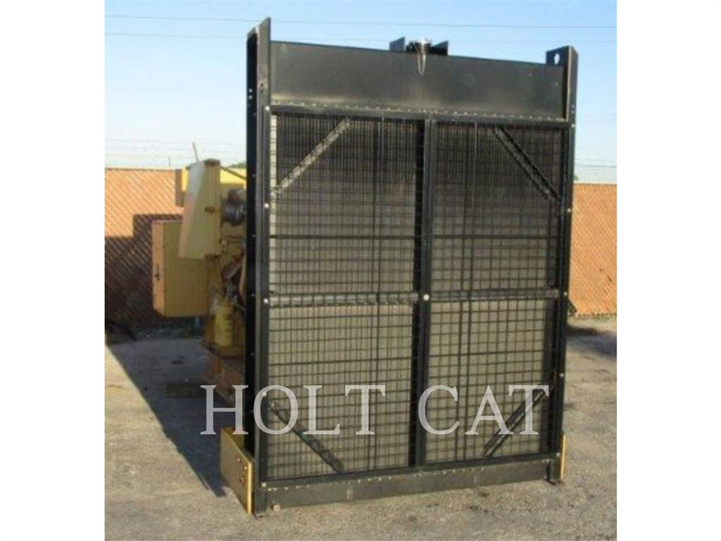 Caterpillar 3412, Stationary Generator Sets, Construction