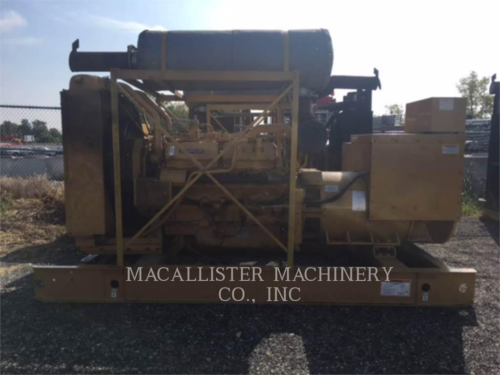 Caterpillar 3412, Stationary Generator Sets, Construction