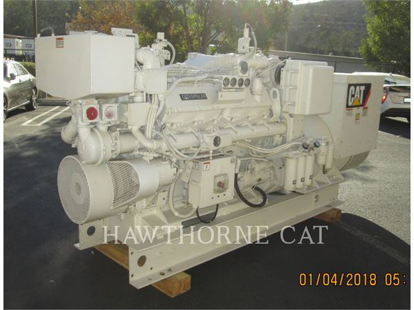 Caterpillar 3412, Marine Propulsion / Auxiliary Engines, Construction
