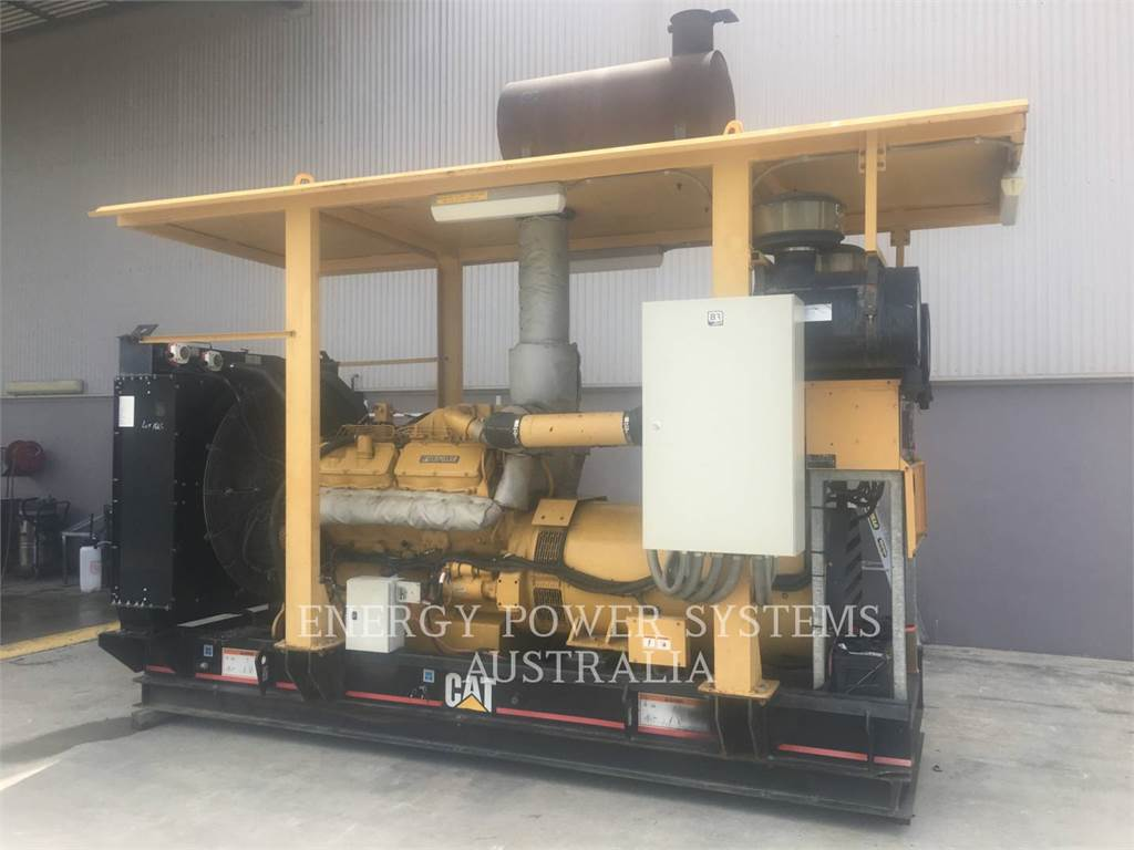Caterpillar 3412, mobile generator sets, Construction