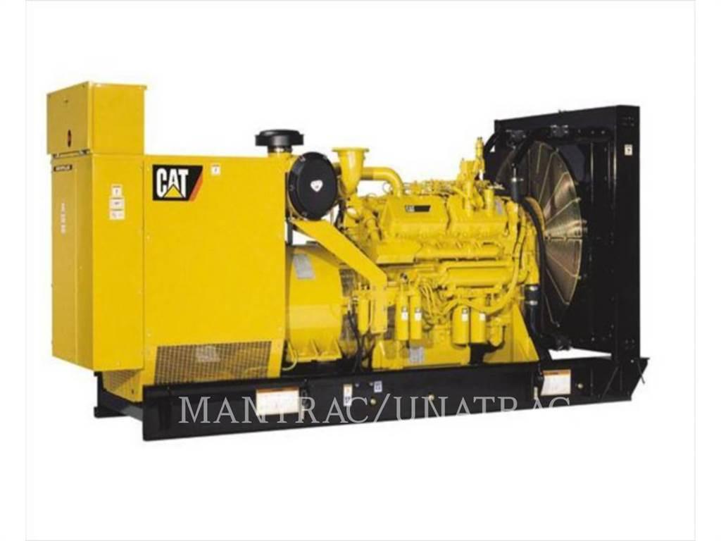 Caterpillar 3412, стационарные генераторные установки, Строительное