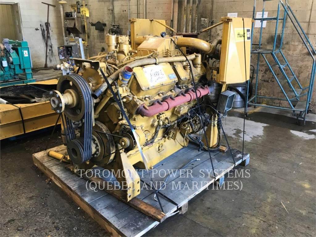 Caterpillar 3412, Промышленные двигатели, Строительное