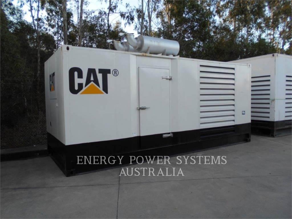 Caterpillar 3412, передвижные генераторные установки, Строительное