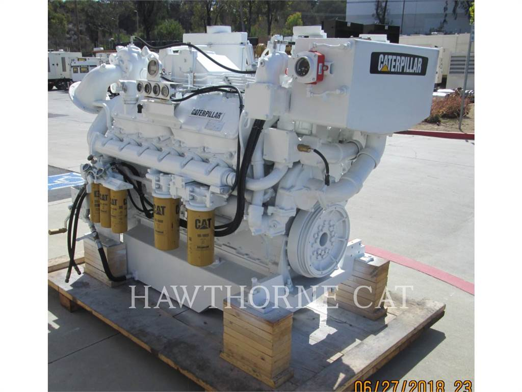 Caterpillar 3412 DITA, Marine Propulsion / Auxiliary Engines, Construction