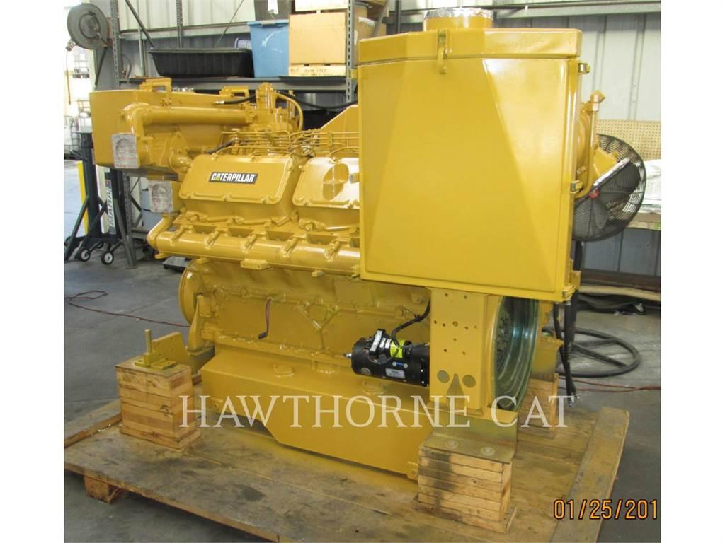 Caterpillar 3412C DITA, marino - auxiliar, Construcción