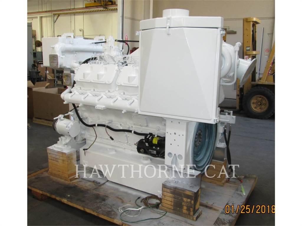 Caterpillar 3412C DITA, Marine Propulsion / Auxiliary Engines, Construction