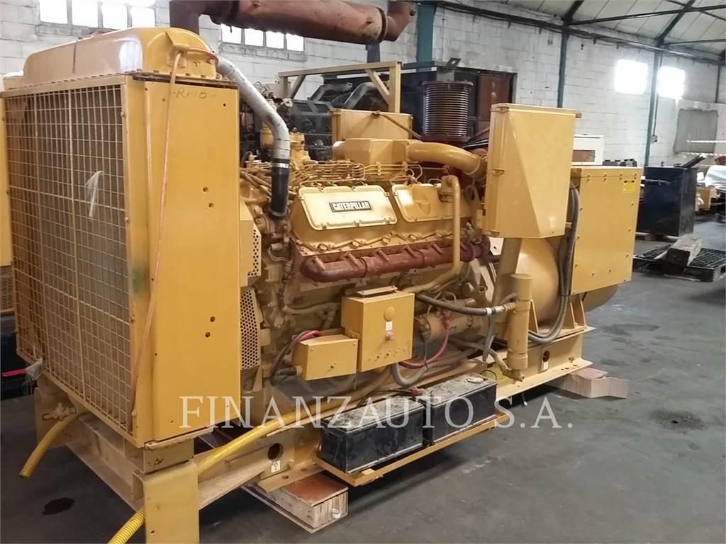 Caterpillar 3412TT, ruchome zestawy generatorów, Sprzęt budowlany