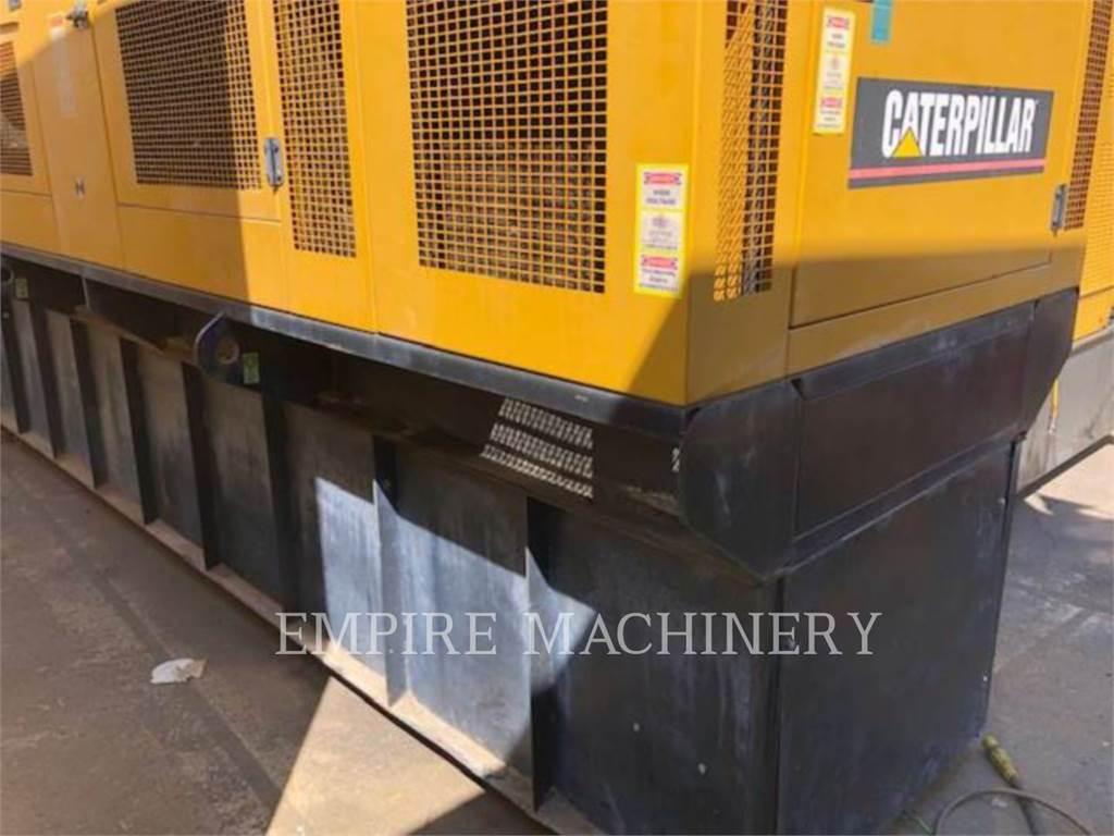 Caterpillar 3456, Stationary Generator Sets, Construction