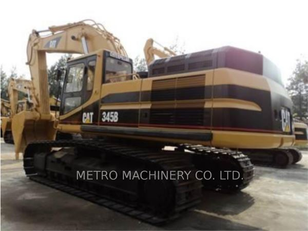 Caterpillar 345B, Crawler Excavators, Construction