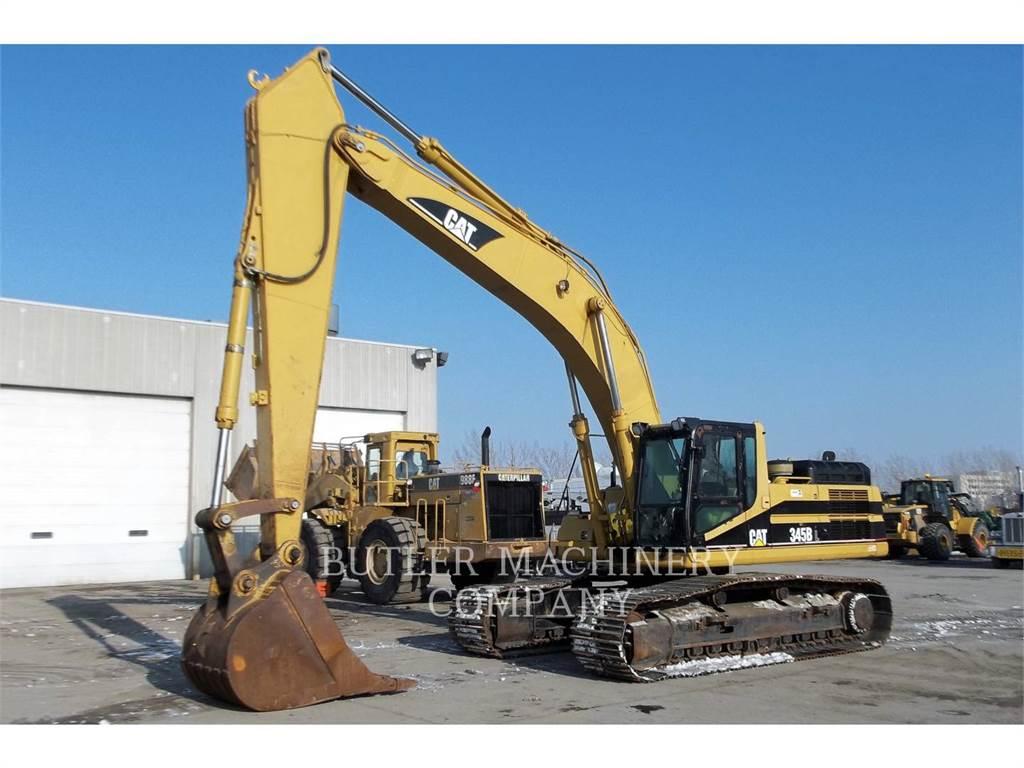 Caterpillar 345BIIL, Pelle sur chenilles, Équipement De Construction