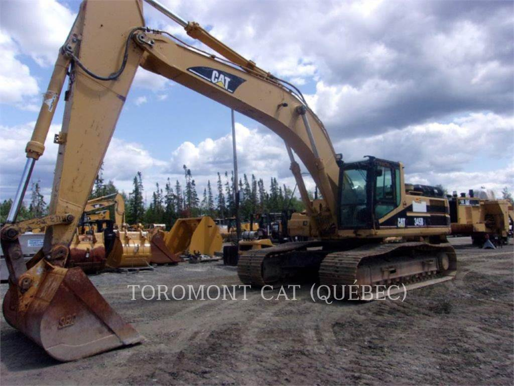 Caterpillar 345BIIL, Crawler Excavators, Construction