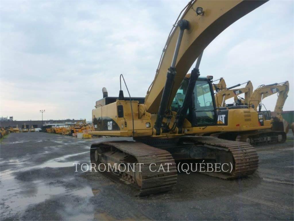 Caterpillar 345C, Excavatoare pe senile, Constructii