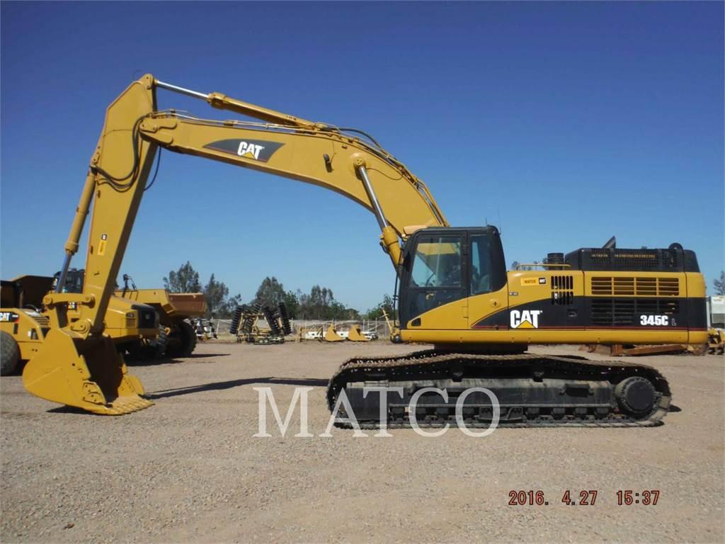 Caterpillar 345CL, Pelle sur chenilles, Équipement De Construction