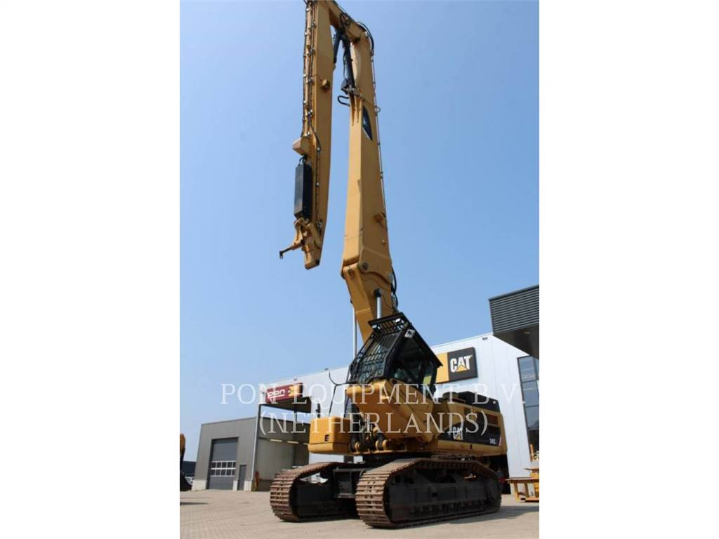 Caterpillar 345CLVG, Crawler Excavators, Construction