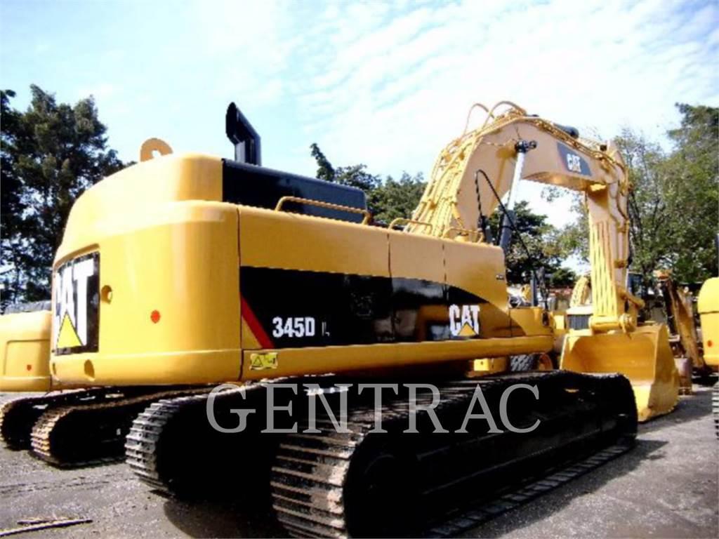 Caterpillar 345DL, Pelle sur chenilles, Équipement De Construction