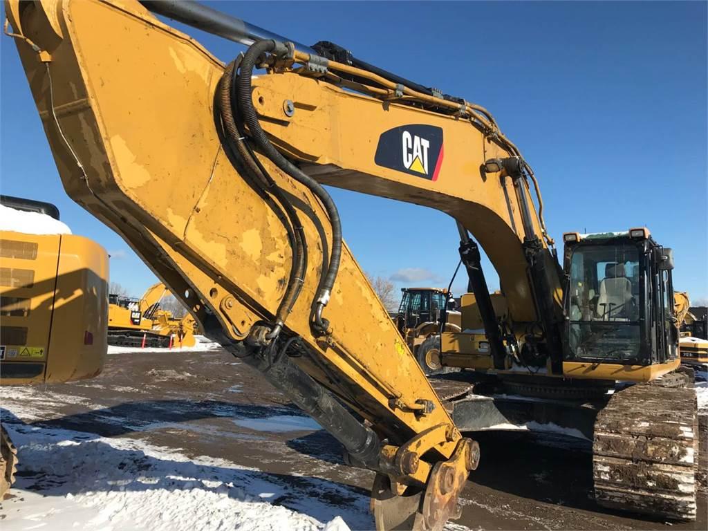 Caterpillar 345DL, Crawler Excavators, Construction