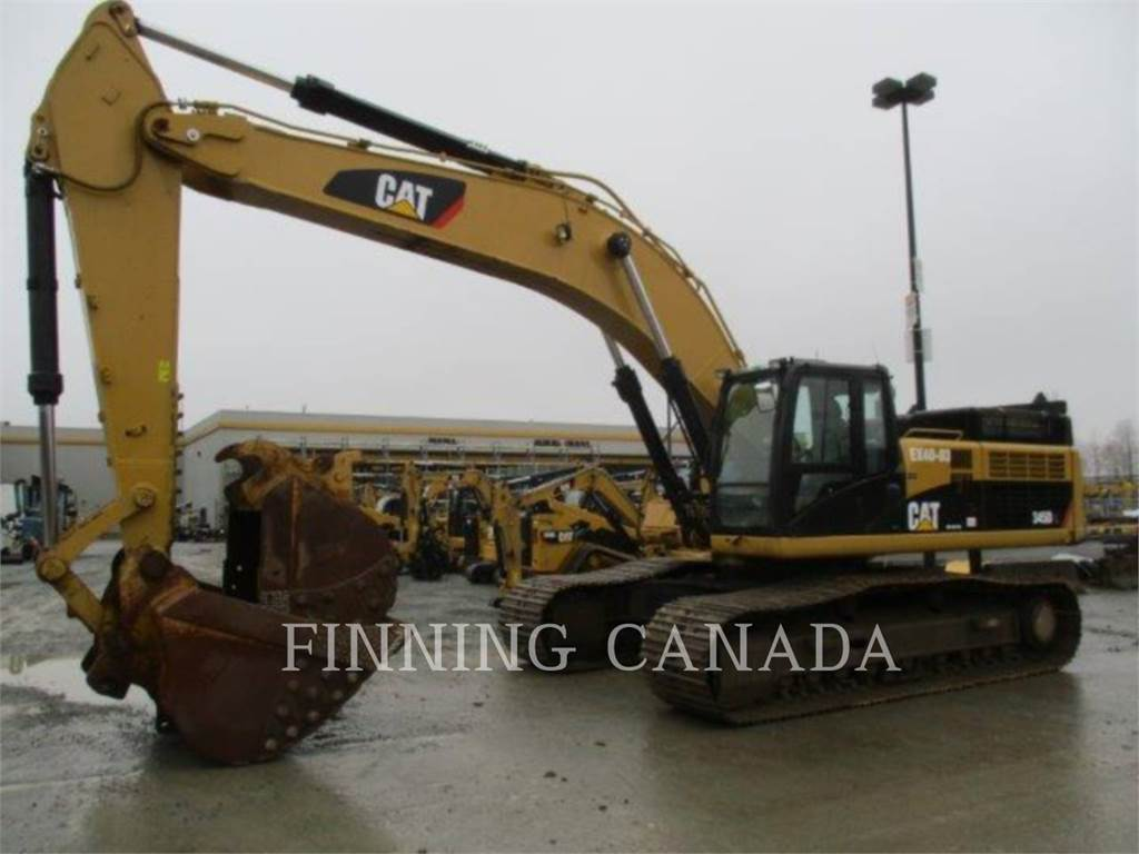 Caterpillar 345DL, Crawler Excavators, Construction