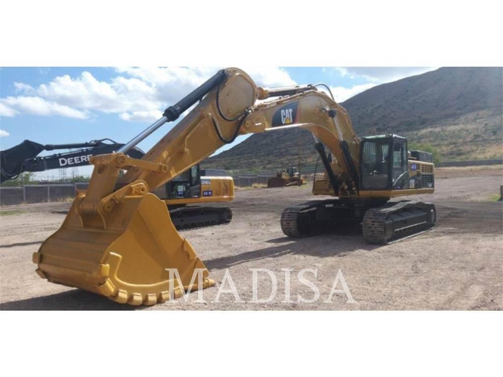Caterpillar 345DL, Excavadoras de cadenas, Construcción