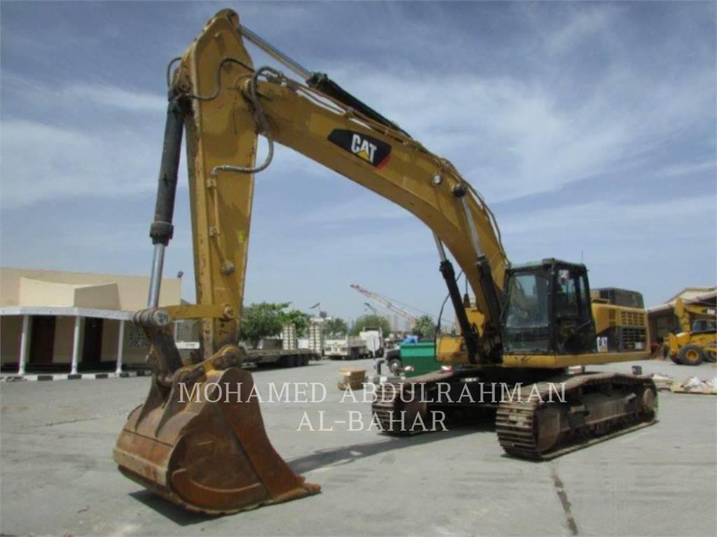 Caterpillar 349 D L, Pelle sur chenilles, Équipement De Construction