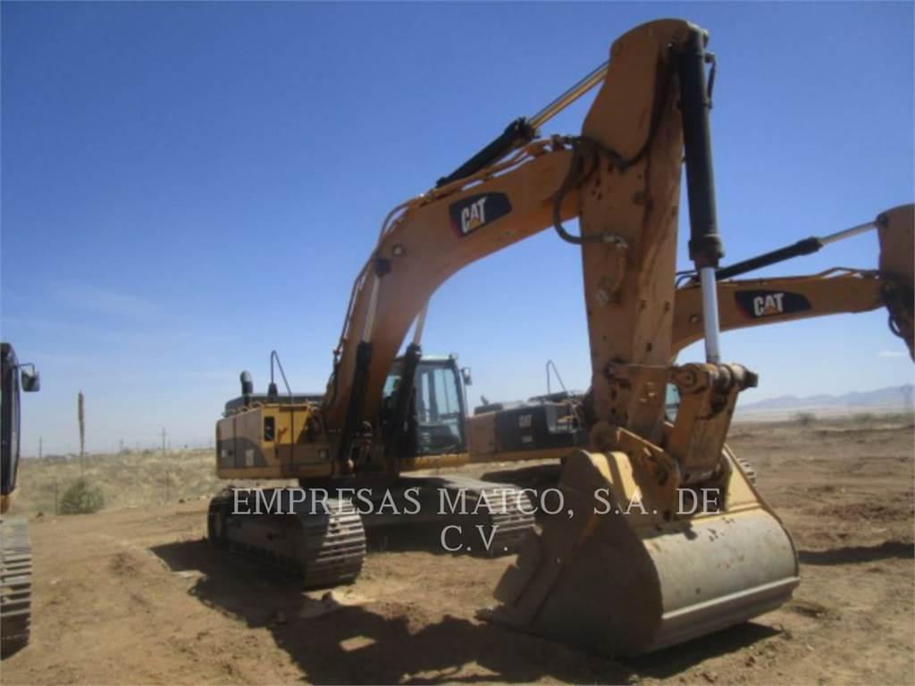 Caterpillar 349 D L, Crawler Excavators, Construction