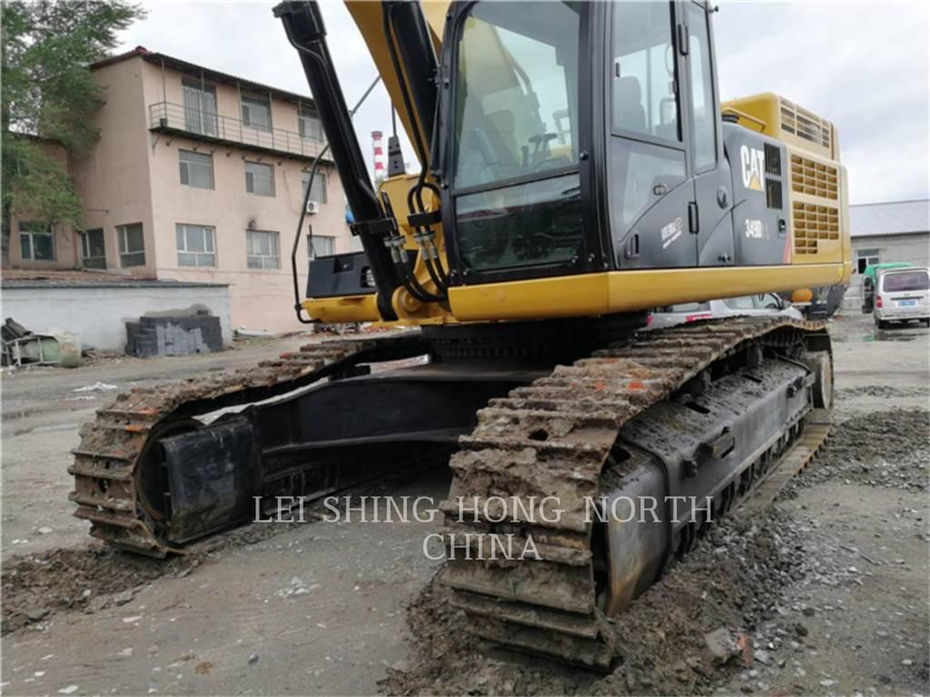 Caterpillar 349 D2 L, Excavatoare pe senile, Constructii
