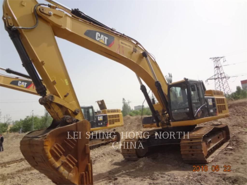 Caterpillar 349D2, Crawler Excavators, Construction