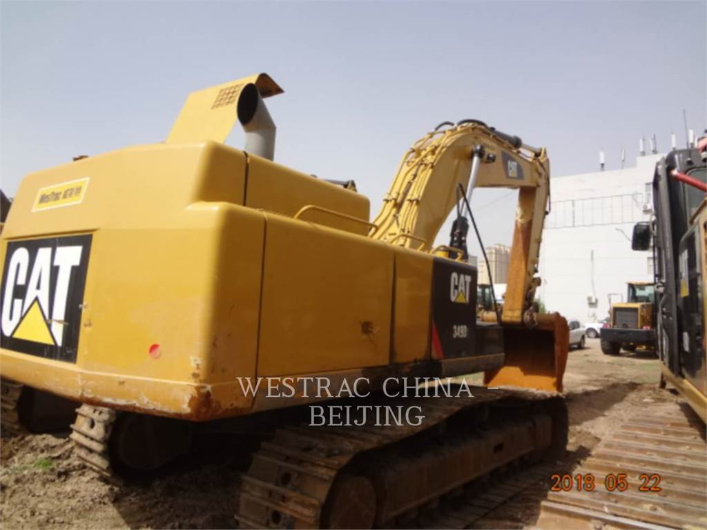Caterpillar 349D2, Crawler Excavators, Construction