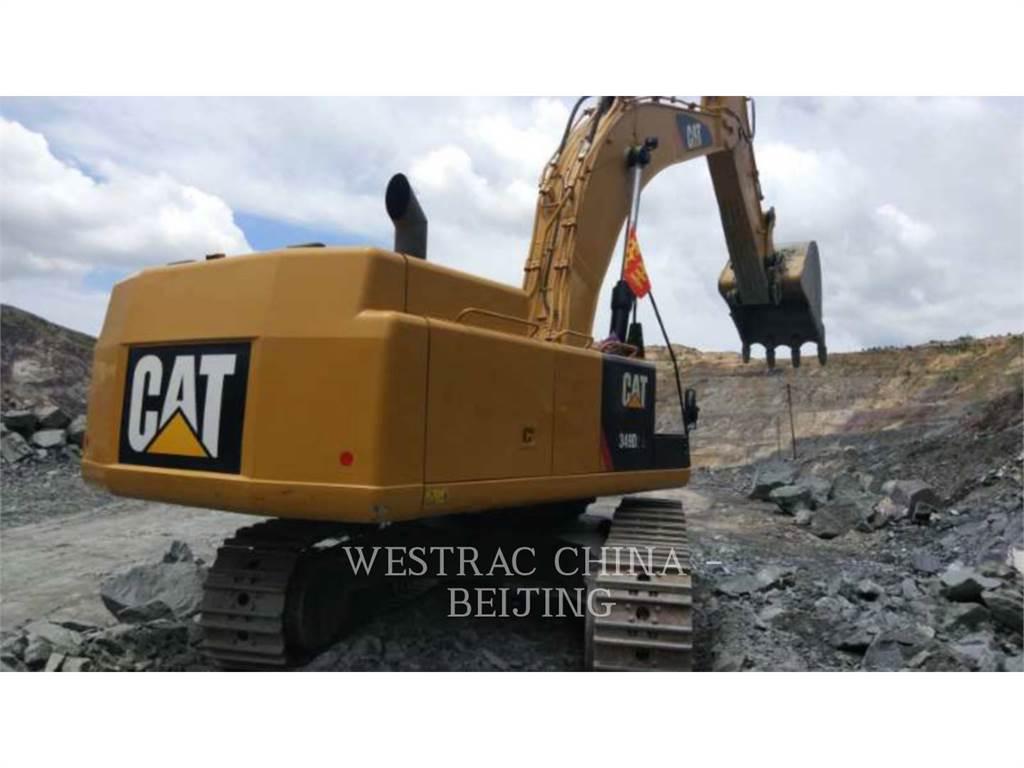 Caterpillar 349D2L, Crawler Excavators, Construction