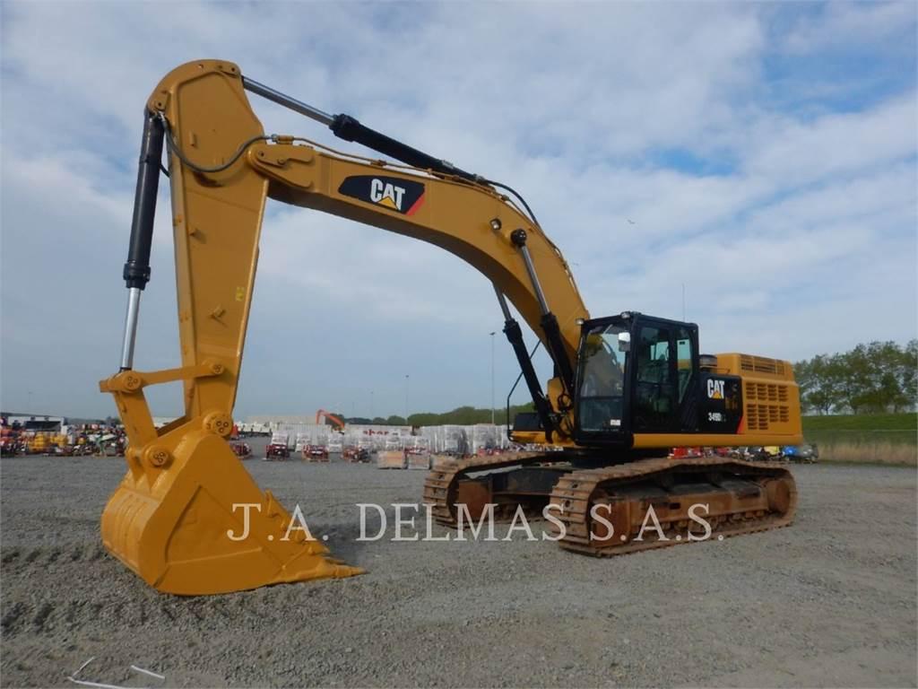 Caterpillar 349D2L、履带挖掘机、建筑设备