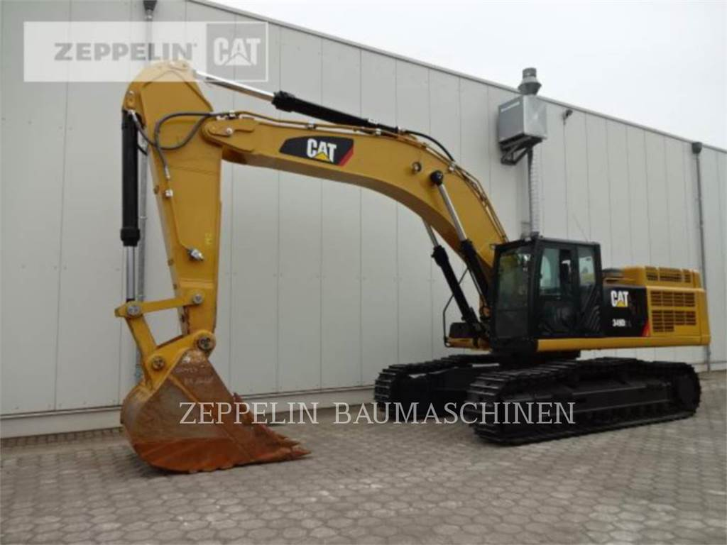 Caterpillar 349D2L, Crawler Excavators, Construction