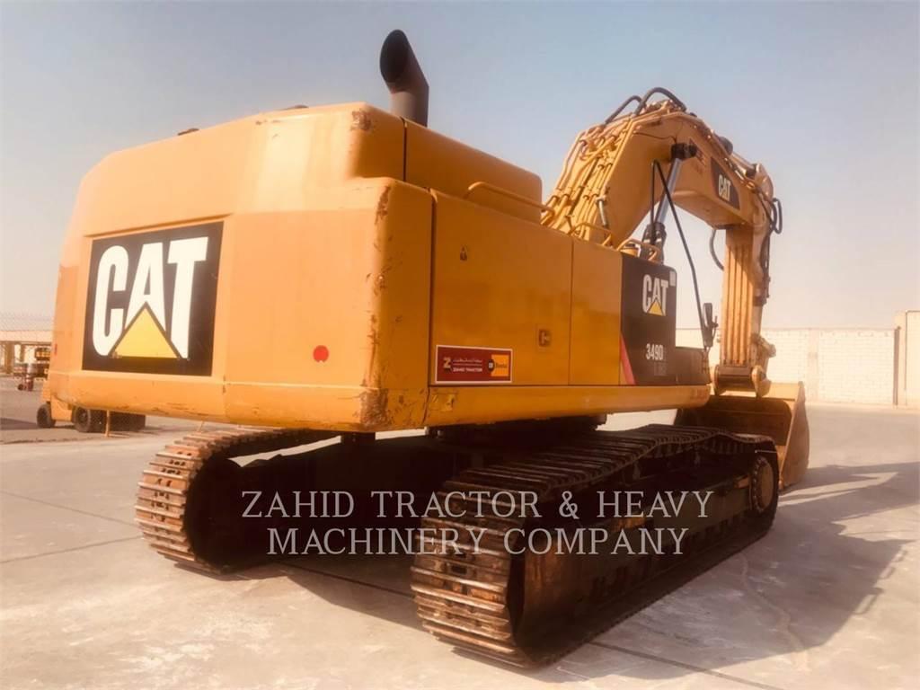 Caterpillar 349D2L、クローラー式油圧ショベル(パワーショベル・ユンボ)、建設