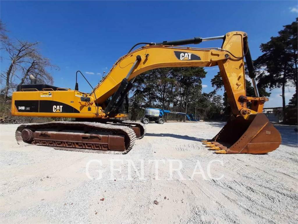 Caterpillar 349DL, Excavadoras de cadenas, Construcción