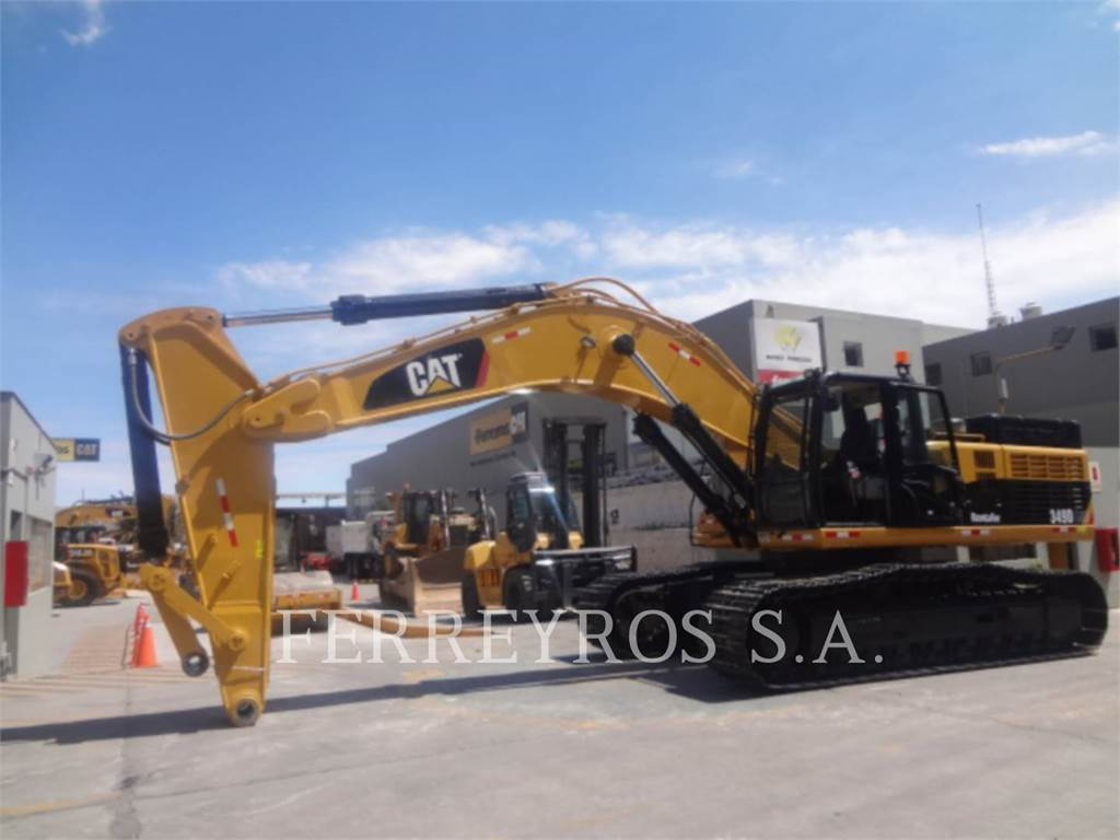 Caterpillar 349DL, Pelle sur chenilles, Équipement De Construction