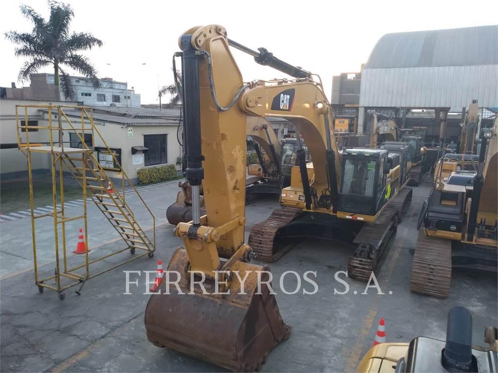 Caterpillar 349DL, Raupenbagger, Bau-Und Bergbauausrüstung