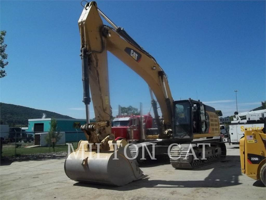 Caterpillar 349E L, Pelle sur chenilles, Équipement De Construction