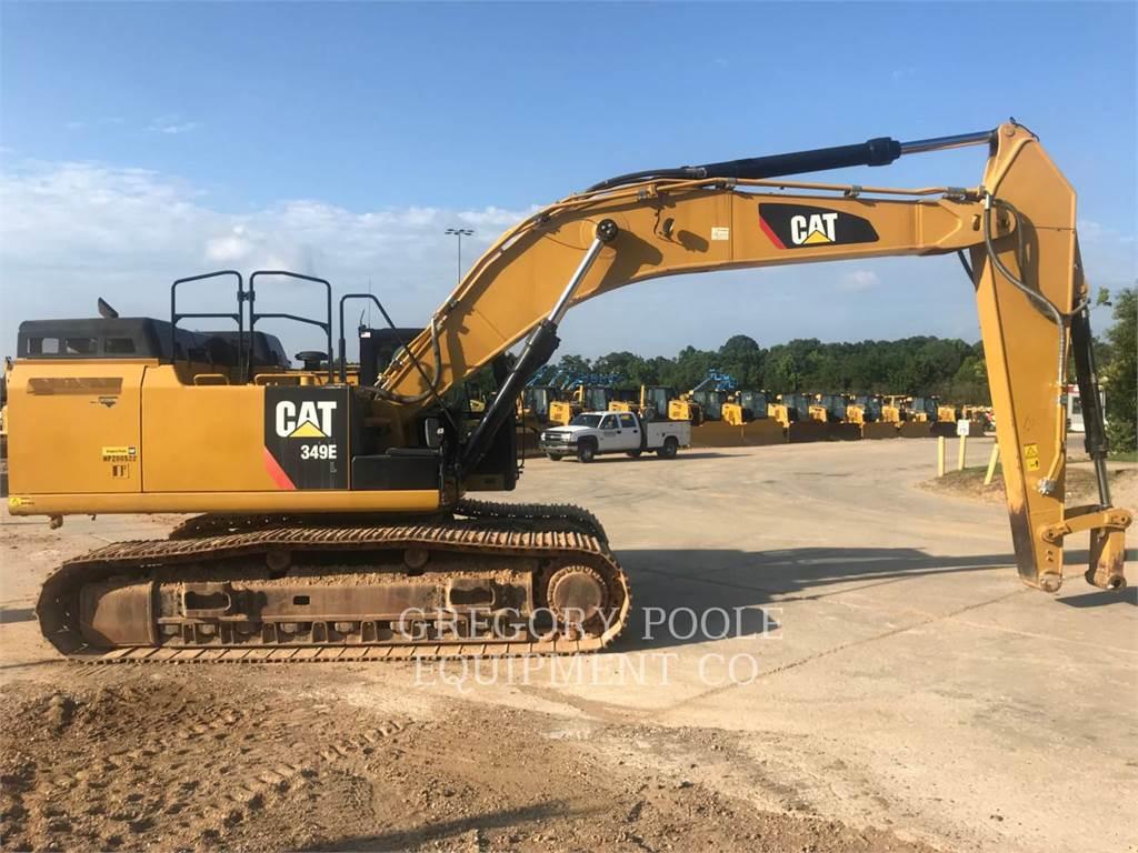 Caterpillar 349E L, Crawler Excavators, Construction