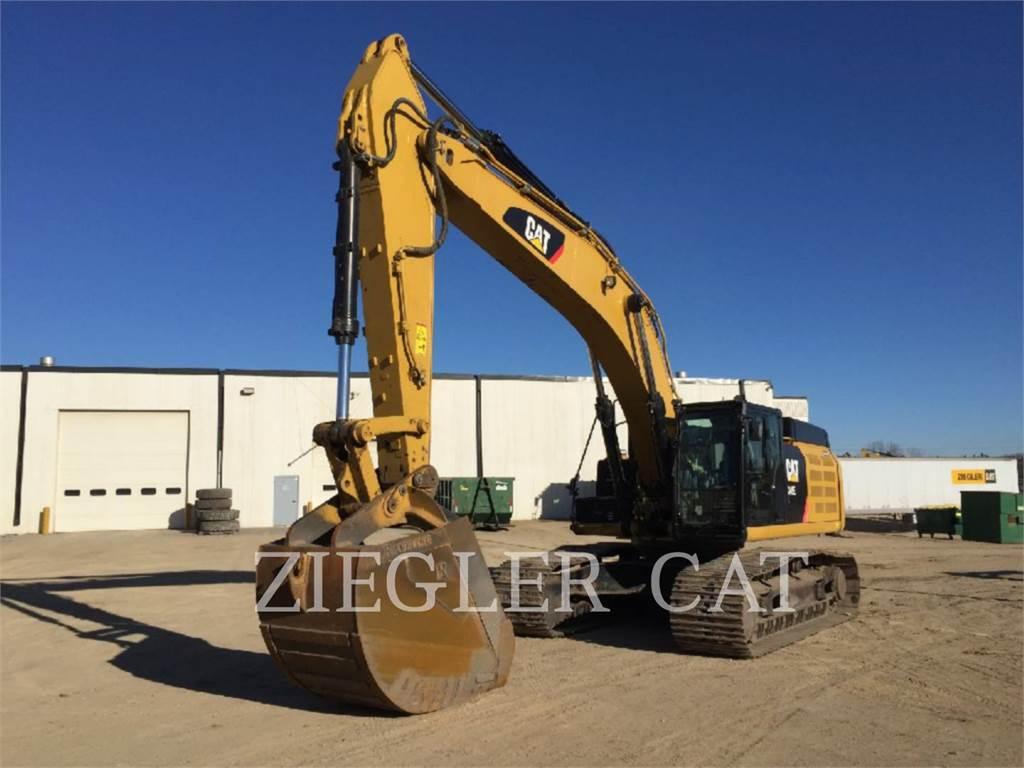 Caterpillar 349EL, Pelle sur chenilles, Équipement De Construction