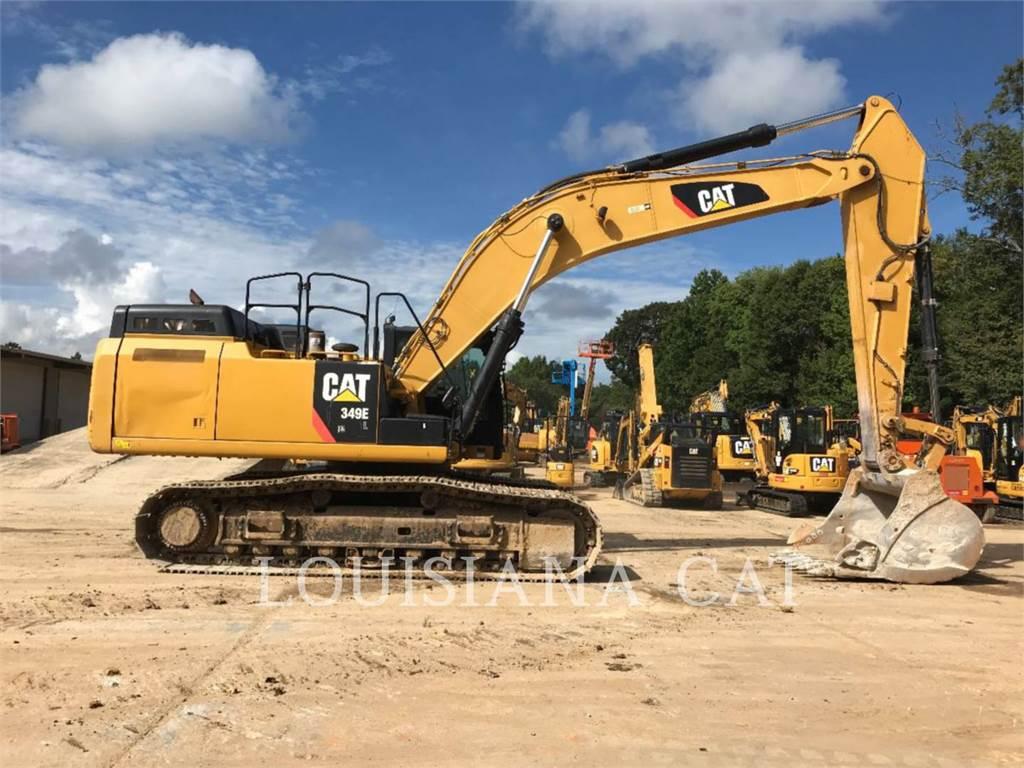 Caterpillar 349EL、履带挖掘机、建筑设备
