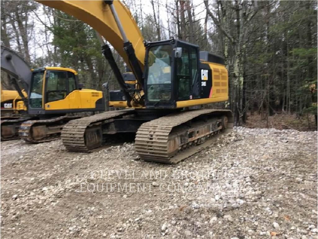 Caterpillar 349EL, Raupenbagger, Bau-Und Bergbauausrüstung