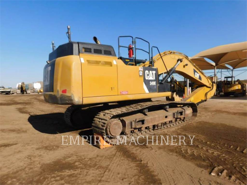Caterpillar 349EL, Crawler Excavators, Construction