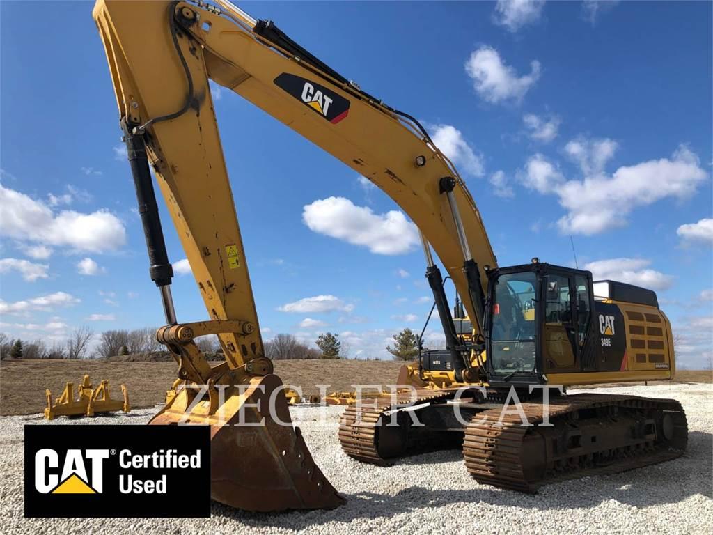 Caterpillar 349EL、クローラー式油圧ショベル(パワーショベル・ユンボ)、建設