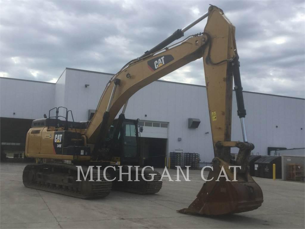 Caterpillar 349EL, Crawler Excavators, Construction